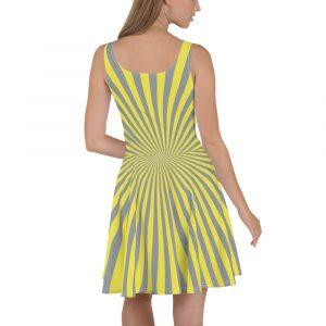 Sheer Elegance Skater Dresses